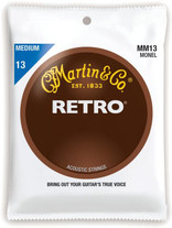 Martin MM13 Retro Monel Nickel Acoustic Strings Medium 13-56