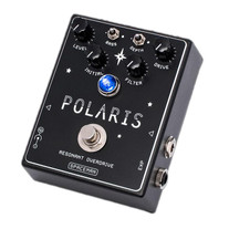 Spaceman Effects Polaris Resonant Filter Overdrive Pedal - Black