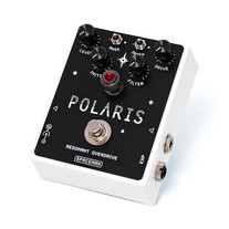 Spaceman Effects Polaris Resonant Filter Overdrive Pedal - White