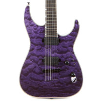 ESP LTD MH-1000NT Electric Quilted Maple - See Thru Purple
