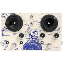 Walrus Audio Janus Tremolo/Fuzz Guitar Effects Pedal
