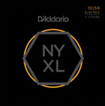 D'Addario NYXL1059 7-String Electric Strings Light 10-59
