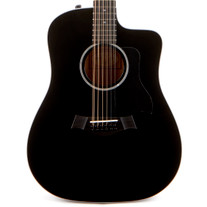 Taylor 250ce Deluxe 12-String Acoustic Electric - Black