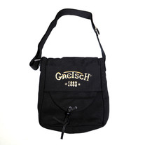 Gretsch Utility Shoulder Bag 1883 Logo - Black Canvas