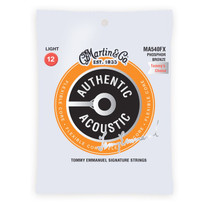 Martin MA540FX Authentic Flexible Core Strings Phosphor Bronze Light .012-.054