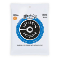 Martin MA545 Authentic Acoustic Bluegrass Strings Light/Medium .0125-.055