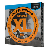 D'Addario EXL140-8 Light Top/Heavy Bottom 8-String Electric Guitar Strings