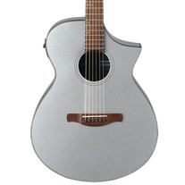 Ibanez AEWC10 Acoustic Electric - Silver Metallic High Gloss