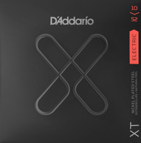 D'Addario XTE1052 XT Nickel Plated Steel Electric Guitar Strings 10-52