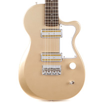 Harmony Juno Travel Size Small Body Electric Guitar - Champagne
