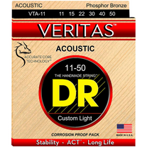 DR Strings VTA-11 Veritas Custom Light Phosphor Bronze Acoustic Strings 10-50