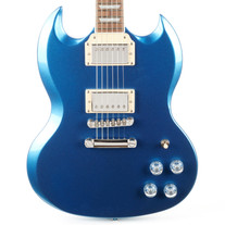 Epiphone SG Muse - Radio Blue Metallic