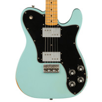 Fender Vintera Road Worn '70s Telecaster Deluxe Maple - Daphne Blue