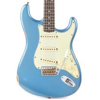 Used Fender Custom Shop 1960 Stratocaster Relic - Faded Aged Lake Placid Blue