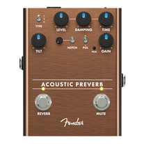 Fender Acoustic Preverb Preamp & Reverb Pedal