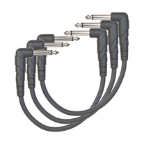 """D'Addario Classic Series 6"""" Patch Cable - 3 Pack"""