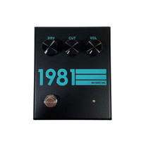 1981 Inventions DRV No3 Overdrive Pedal - Black & Teal