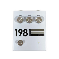 1981 Inventions DRV No3 Overdrive Pedal - Grey Scale