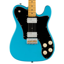 Fender American Professional II Telecaster Deluxe Maple - Miami Blue