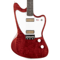 Harmony Silhouette Flame Maple Top - Transparent Red