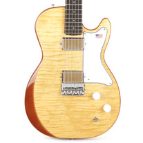 Harmony Jupiter Figured Flame Maple Top - Vintage Natural