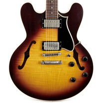 Heritage H-535 Artisan Aged Collection Semi Hollow - Original Sunburst