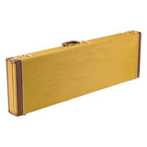 Fender Classic Series Wood Case for Precision Bass & Jazz Bass - Tweed
