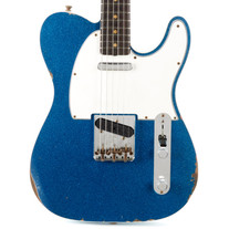 Fender Custom Shop 1961 Telecaster Custom Relic - Aged Blue Sparkle
