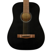 Fender FA-15 3/4 Steel String Acoustic with Gigbag - Black