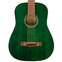 Fender FA-15 3/4 Steel String Acoustic with Gigbag - Green