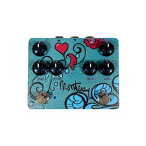 Keeley Monterey Rotary Fuzz Vibe Multi-Effect Pedal