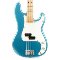 Used Fender Standard Precision Bass MIM Tidepool Blue 2015