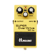 Used Boss Waza Craft SD-1w - Super Overdrive Pedal