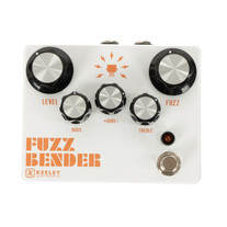 Used Keeley Fuzz Bender with Active EQ Fuzz Pedal