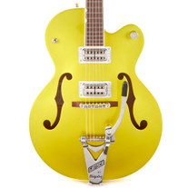Used Gretsch G6120T-HR Brian Setzer Hot Rod in Lime Gold