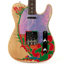 Fender Jimmy Page Telecaster Ensenada Graphic Rosewood B Stock - Natural