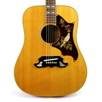 Vintage 1972 Gibson Dove Dreadnought Acoustic Guitar Natural Finish