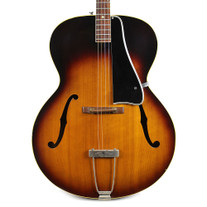 Vintage 1962 Gibson TG-50 Tenor Archtop Acoustic Guitar Sunburst Finish