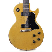 Vintage 1956 Gibson Les Paul Special Electric Guitar TV Yellow