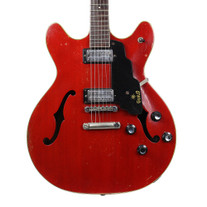 Vintage 1967 Guild Starfire IV Electric Guitar Cherry Finish