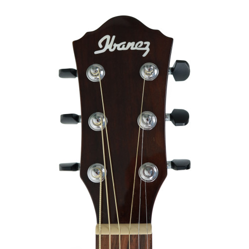 Ibanez Aew40cdnt Exotic Wood Acoustic Electric Guitar In Natural High Gloss