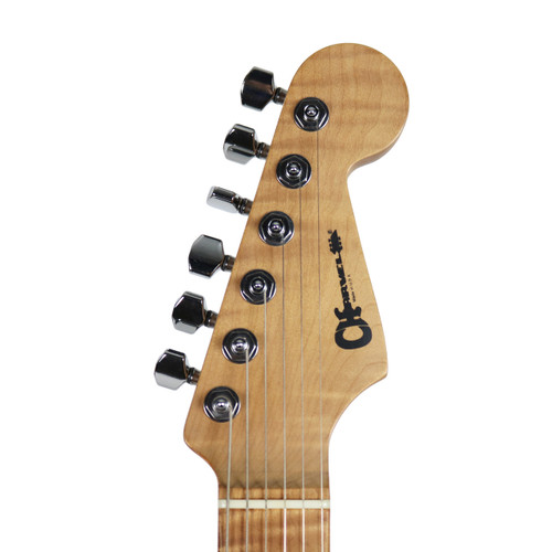 2015 USA Charvel Guthrie Govan Electric Guitar Natural Flame Finish