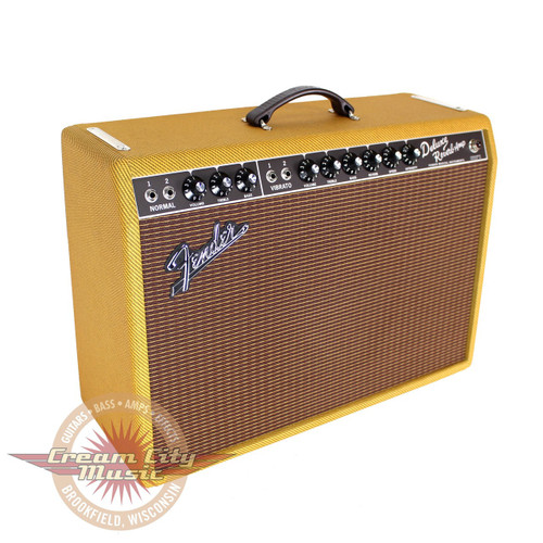 Fender Tweed Amp >> Fender Limited Edition 65 Deluxe Reverb Laquered Tweed 22w 1x12 Tube Combo Amp