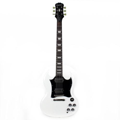2df976256d Used Epiphone SG Pro Electric Guitar in White ...