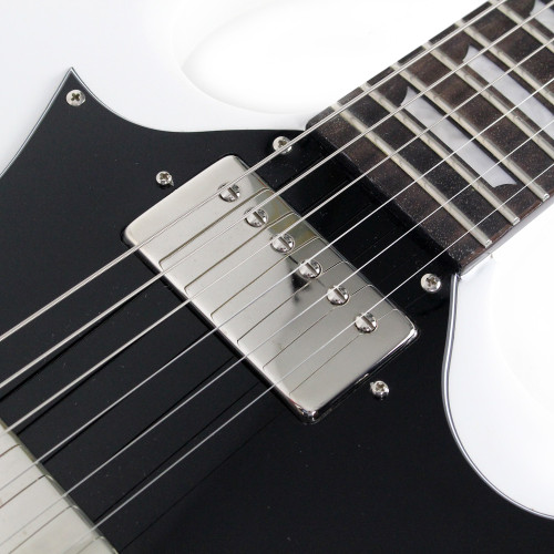 8639f9635f ... Used Epiphone SG Pro Electric Guitar in White ...