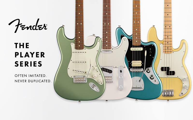 Overview of the New Player Series by Fender