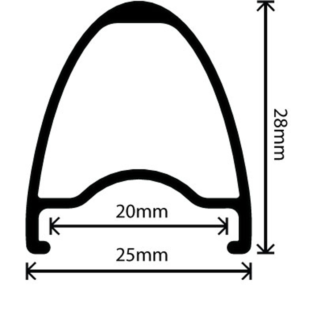 Velocity Aileron Clincher Rim