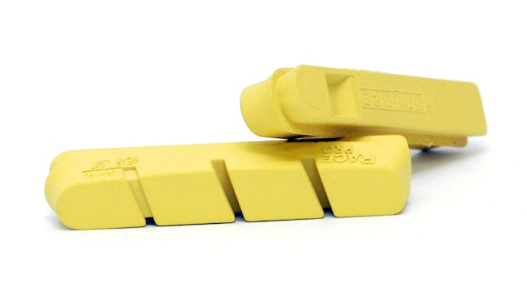 CLOSEOUT! SwissStop Flash and RacePro Yellow King Carbon Brake Pads