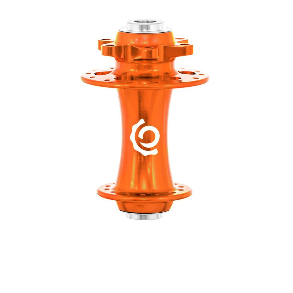 Industry Nine Road/CX Disc brake ISO front hub orange
