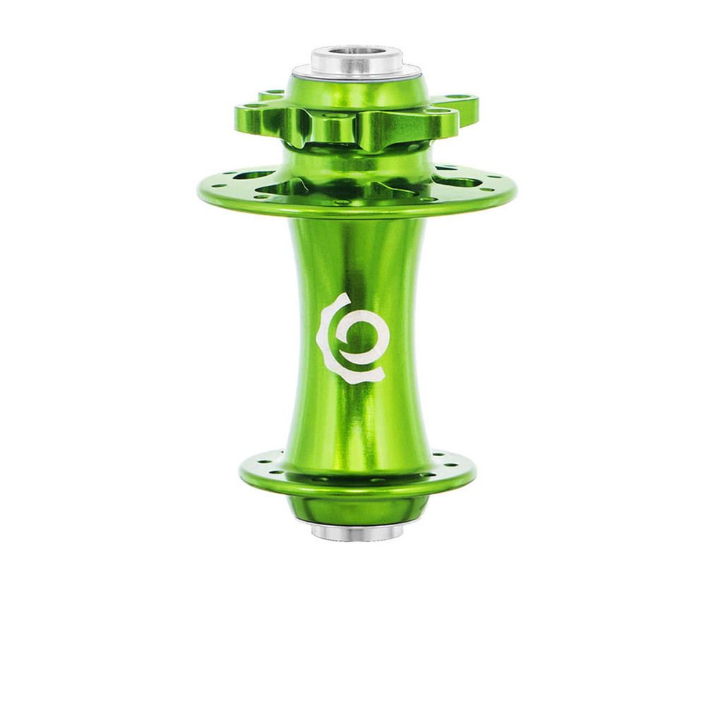 Industry Nine Road/CX Disc brake ISO front hub lime, light green, antifreeze, sour apple